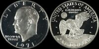 1971-S PCGS PR69 DCAM Eisenhower Ike Old Large Silver Dollar US Type Coin