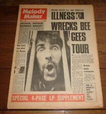 MELODY MAKER 3 AUG 1968 BEATLES ARTHUR BROWN KINKS DOORS BEE GEES SMALL FACES
