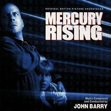 MERCURY RISING / John Barry / TOP RARE SOUNDTRACK OOP OST CD MINT