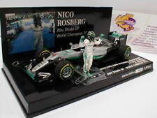 MINICHAMPS 410160806-Mercedes f1 w07 Hybride no6 Abu Dhabi 2016 Rosberg 1:43