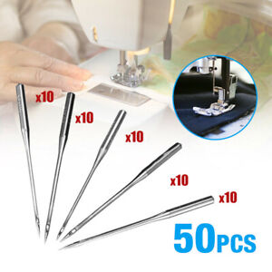 For Brother Singer Kit 50PCS Home Sewing Machine Needle 11/75,12/80,14/90,16/100
