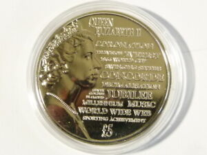 2015 Proof Commemorative £5 Coin Elizabeth II from Guernsey