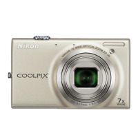 Excellent Nikon COOLPIX S6100 16MP Compact Digital Camera - Choice of Colours