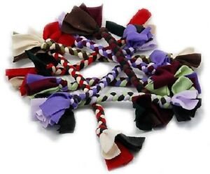 Handmade Braided Fleece Tug by Leerburg