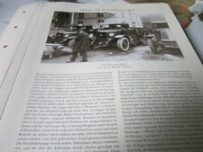 Nutzfahrzeug Archiv 5 Alltag 5335 1929 Holzgasgeneratoren im LKW