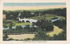 Humber River Valley TORONTO Ontario Canada 1930-40s Valentine-Black Postcard