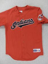 Cleveland Indians Vintage Replica Baseball Jersey (Mens Medium) Red