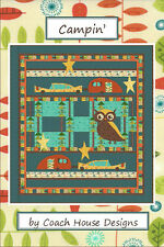 Quilt Pattern ~ CAMPIN' ~ by Coach House Designs