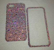 Crystal Bling RARE AB Bumpie Case For IPHONE 8 4.7 W/ 100% SWAROVSKI Crystals