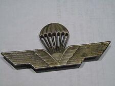Militaria: insigne parachute ajouré, aucune inscription
