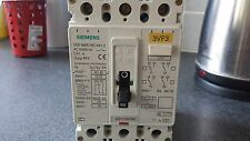 SIEMENS 3VF3 100A 3 POLE MCCB CIRCUIT BREAKER SAME AS CRABTREE PW160 100AMP