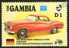 Germany Car & Motoring Postal Stamps