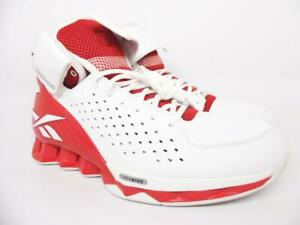 Reebok ATR Lock It Up Full Hexride Basketball Men's Shoes White/Red Size 12