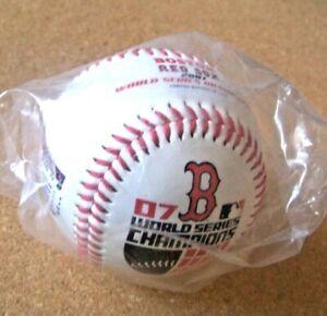 2007 Boston Red Sox World Series Champions ball baseball Angels Indians Rockies