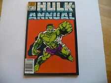 HULK ANNUAL #12 (8.0 VF) MARVEL 1983 -VERY NICE HI-GRADE COMIC-GREAT HULK COVER!