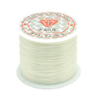50M Strong Stretch Elastic Cord Wire rope Bracelet Necklace String Bead 0.5mmRSK