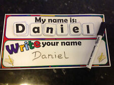 learn to write and spell your name young children activity spell name SEN ASD