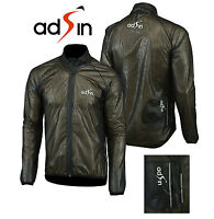 Men's Water/ Wind Proof  Cycling Running Outdoor Jacket Lightweight Reflective