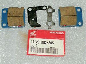 NEW FRONT BRAKE PAD PADS SET 1982 HONDA MB5 MB50 MB 5 50 82