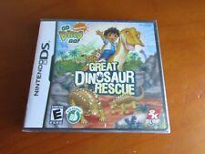 Go, Diego, Go Great Dinosaur Rescue (Nintendo DS, 2008) Brand New