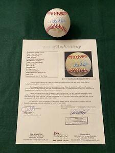 DEREK JETER Signed Baseball Circa 2005 JSA LOA Signature Autograph NY Yankees