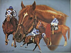 """Secretariat-Spirit of a Champion, signed by Ron Turcotte, 15x20"""" Horse Racing"""