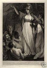 Boadicea Boudicca John Opie Haranguing the Britons Celts Iceni 7x5 Inch Print
