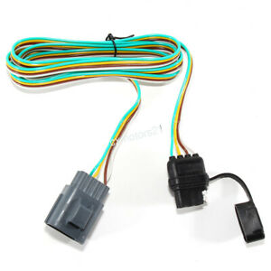 Trailer Hitch Wiring Tow Harness 4Way For Chevrolet Traverse Buick Enclave 13-17