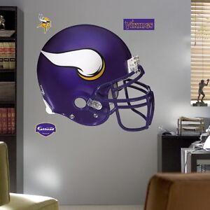 NEW 2-Pack Minnesota Vikings Helmet & 6' life size Adrian Peterson FATHEADS