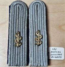 WW2 GERMAN UNIFORM MEDICAL OFFICER'S SHOULDER BOARDS