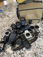Random Camera And Lens Lot Mainly Nikon