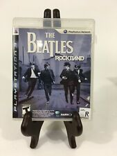 The Beatles: Rock Band (Sony PlayStation 3, 2009) PS3 Missing Manual TESTED