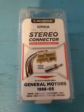 SCOSCHE 1988-05 Car Stereo Connector GMDA for General Motors Vehicles Cadillac