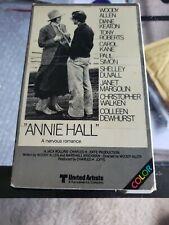 Annie Hall (Beta, 1981) Woodie Allen Diane Keaton Christopher Walken Paul Simon