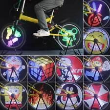 Bicycle Light Rgb Wheel Bike Led Spoke Programmable Waterproof Tire Colorful Diy