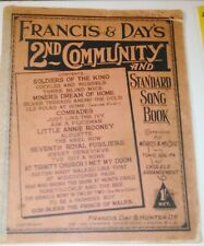 Francis & Day's 2nd Community and Standard Song Book
