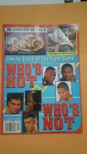 """Ring Boxing Magazine. Sept. 1999. """"Who's Hot? Who's Not?"""""""