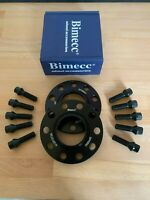 VW Golf MK 7 Black  5x112 - 57.1 12mm Hubcentric Alloy Wheel Spacers 1 Pair