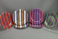 Block Spal Regimental Stripes Portugal Set 7 Salad Plates