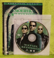 The Matrix Reloaded (DVD, 2003, 2-Disc Widescreen)Keanu Reeves, Carrie-Anne Moss