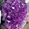 25.25LB Natural Raw Amethyst Quartz Geode Druzy Crystal Cluster Healing.