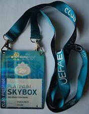 VIP Pass Keyholder UEFA Euro 2012 Schweden - Frankreich Match 24