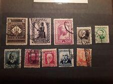 LOTE 10 SELLOS USADOS AÑO 1931