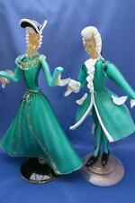 MURANO GLASS BAROVIER  Dandy & Lady Dancing FIGURINES
