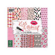 Dovecraft 6x6 - Kiss & Makeup - 72 sheets Scrapbooking Cardmaking