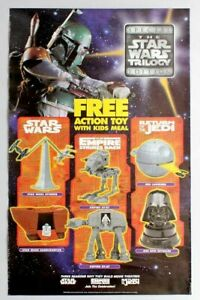 Star Wars KFC Toys Full Set