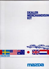 1985 MAZDA 626 Australian Dealer Merchandising Kit & Brochure