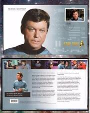 """Bones"" Canada FDC Star Trek Anniversery Free Shipping! 5 Different"