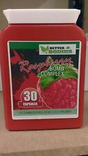 Raspberry Ketone Complex Pills Diet Weight Loss Tablets 30 Capsules Bottle RED