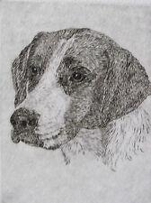 Geoffrey Lasko - Harrier Dog - Listed Artist Original Etching - S&N - Free Ship